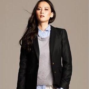 Banana Republic - Size 4P - Oxford blazer Like new